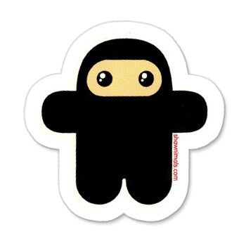 Image of WEE NINJA Stickers pack (5 pieces)