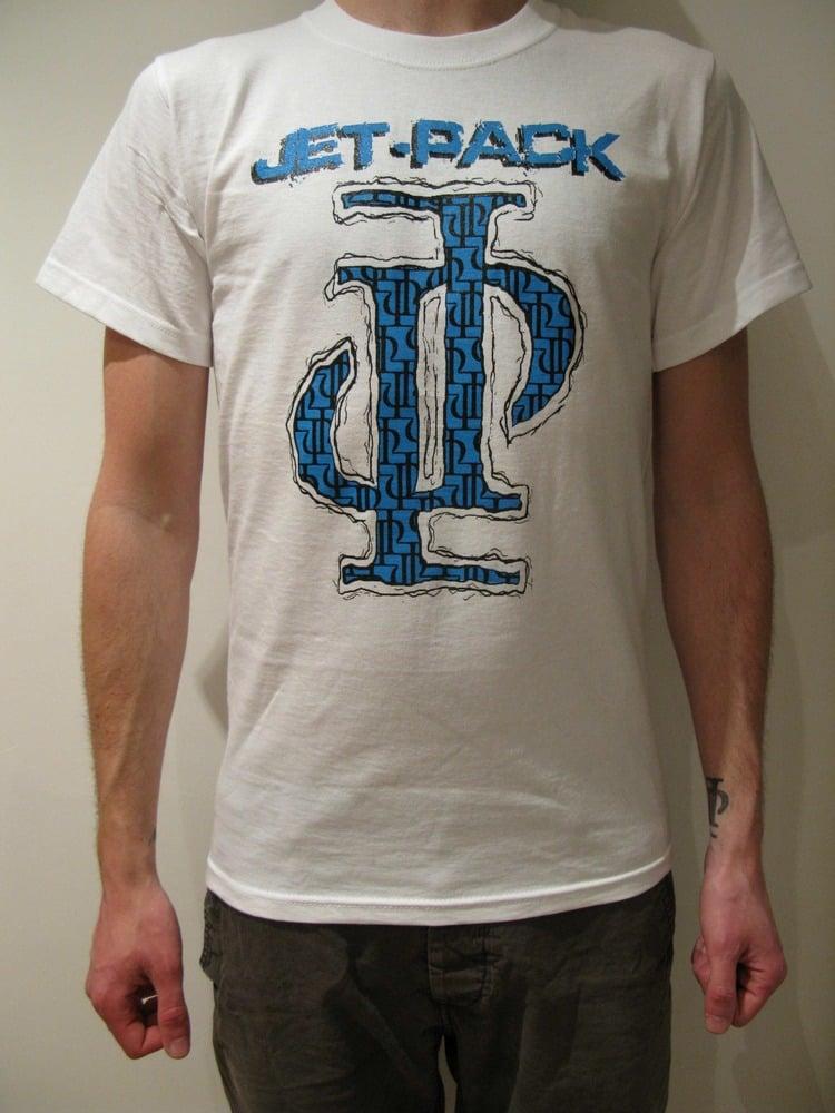 Image of JP Logo T-Shirt - White Guys - £3