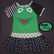 Image of Kermit The Star Muppets Dress - Size 9/10
