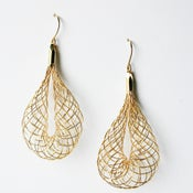 Image of Net Dangle - Silver or Gold