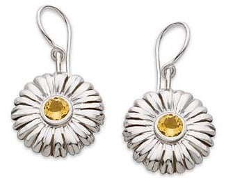 Image of Sunflower Earrings