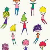 Image of Fruit Heads Print