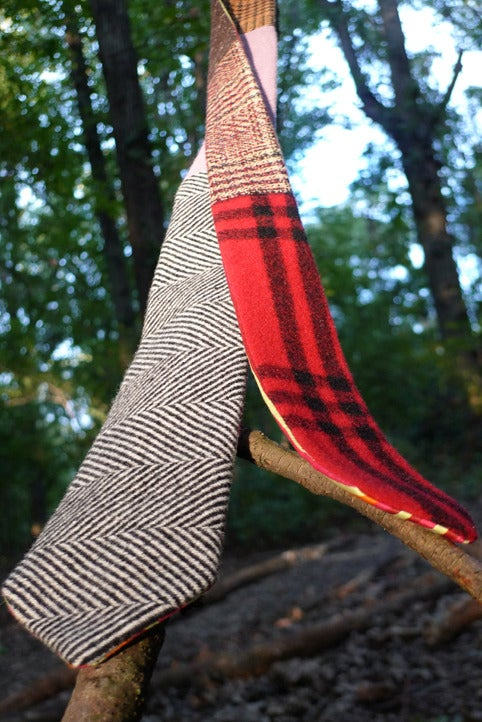 Image of tie a one-of-a-kind, unique, handmade, unisex tie-1
