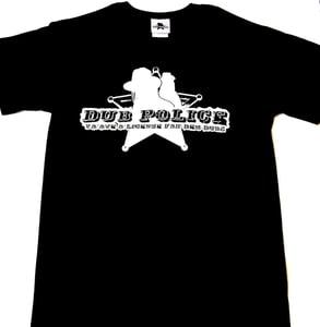 Image of Dub Police Black/White Logo Men T-Shirt