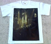 Image of Dub Police Limited Live White/Brown Photo Logo Mens T-Shirt