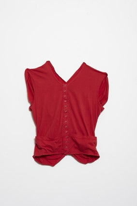 Image of Didymus Vest Red