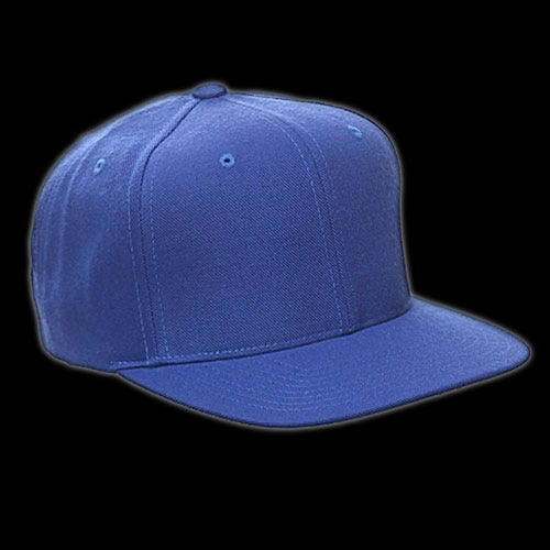 Image of Snapback bleu royal vierge
