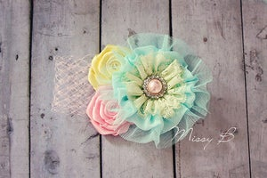 Image of Pastel love headband~To fit approx 4-18 months