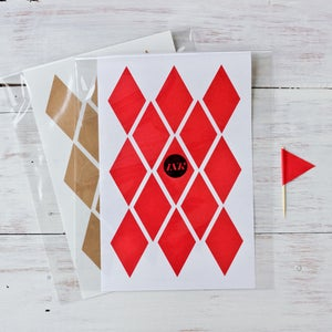 Image of Bunting Stickers