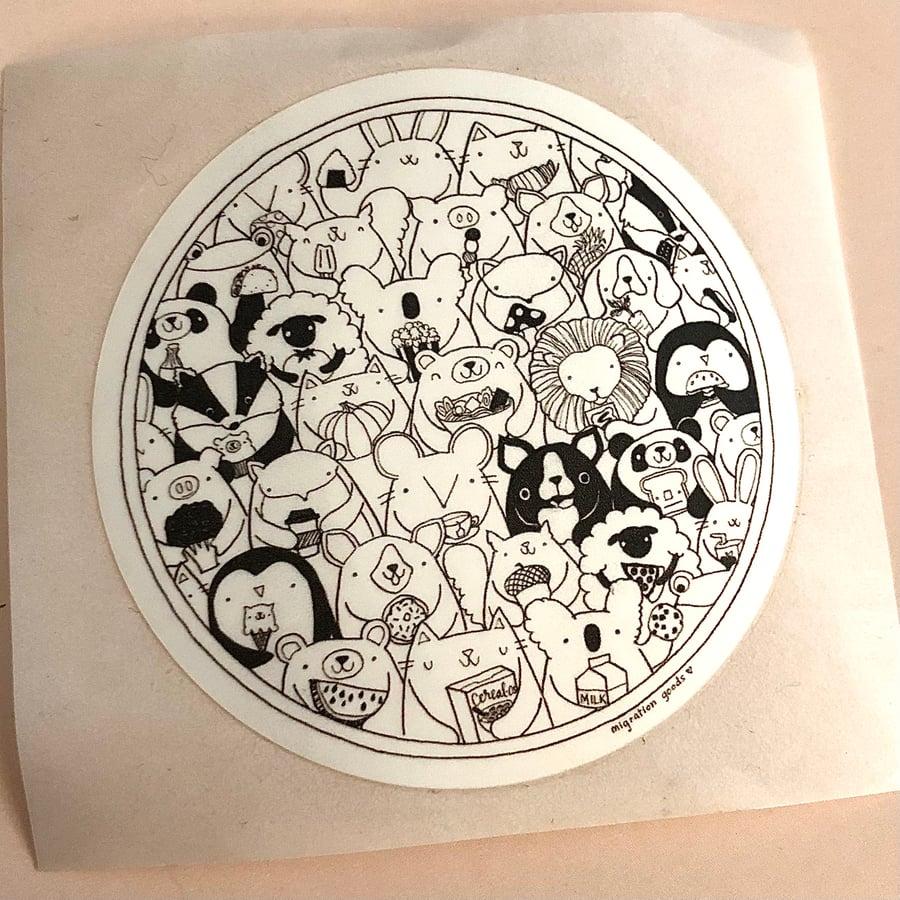 Image of favorite foods sticker