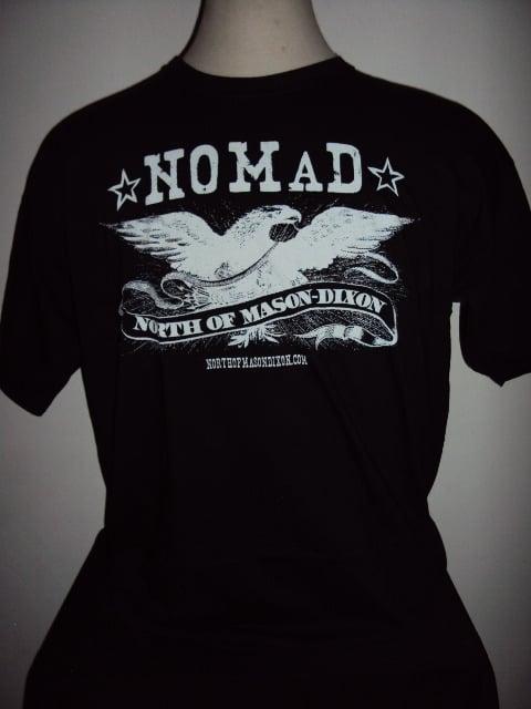 Image of NOMaD Eagle Logo Black T-Shirt