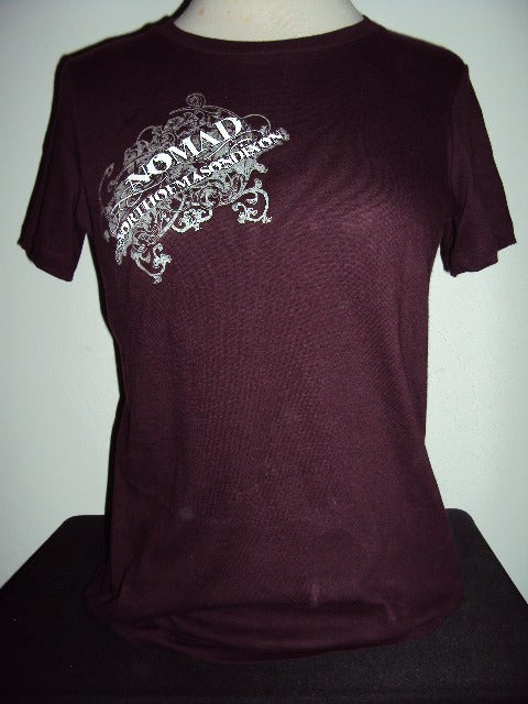 Image of NOMaD Ladies INKed Logo Purple T-Shirt