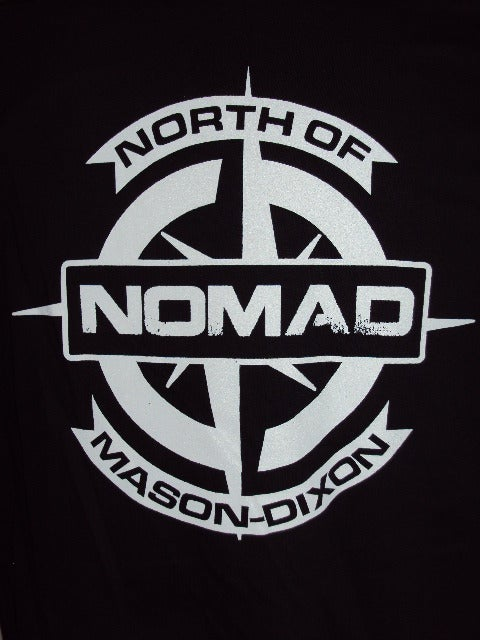 NOMaD Compass Logo Black T-shirt