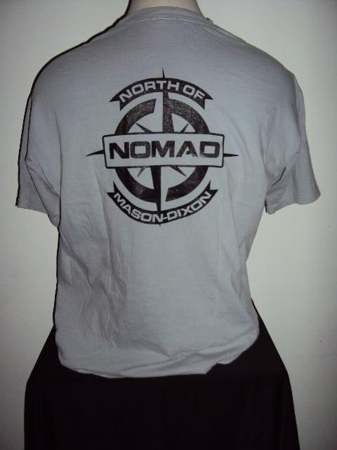 NOMaD Compass Logo Grey T-Shirt