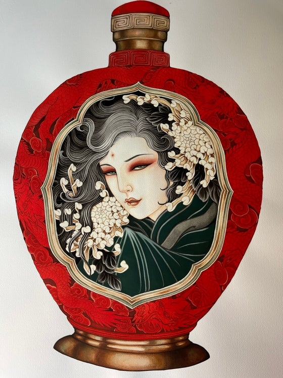 Image of Red Jade in A3