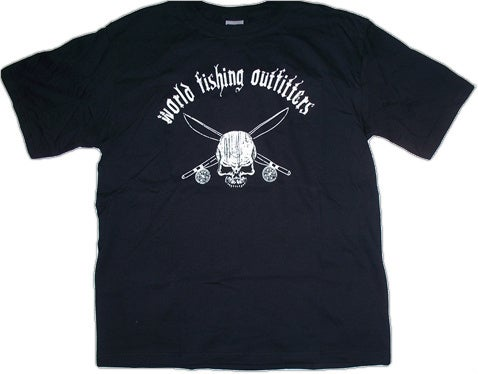 Image of Skull & Cross Bones - Black
