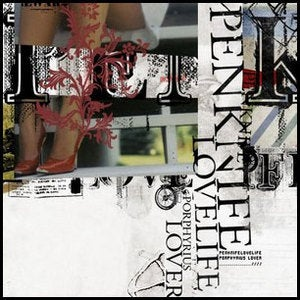 "Penknifelovelife - ""Porphyria's Lover"" CD Single"