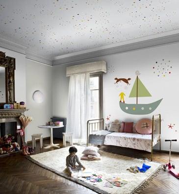 Image of Murales niña colección Coordonné- Girl's wall paper murals