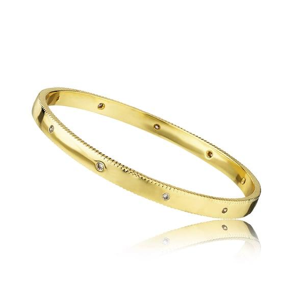 Image of Gold & Stone Bangle