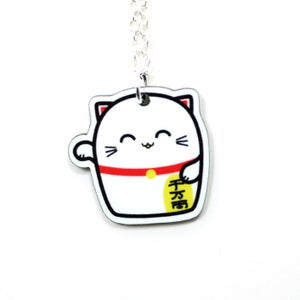 Image of Lucky Cat Necklace