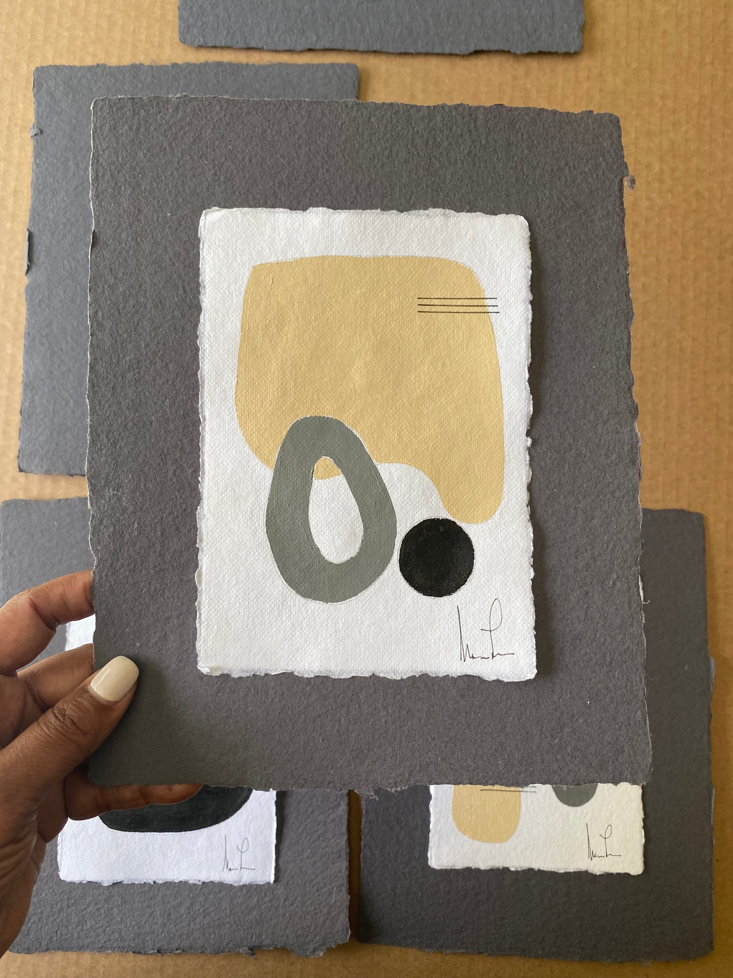 Image of ML • Handmade Paper Charcoal Collection 3