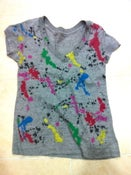 Image of Paint Splatter V-Neck