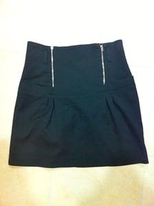 Image of Double Zip Skirt