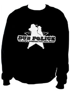 Image of Dub Police Black Mens Sweatshirt