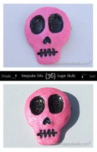 Image of Sugar Skulls Hair Piece - Glittered