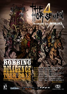 """Image of Poster """"Robbing Diligence Tour 2012"""""""