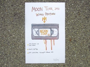 Image of MOONTOUR PREMEIRE POSTER
