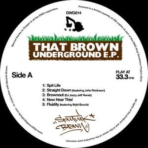Image of DWG014: Sputnik Brown 'That Brown Underground' E.P.