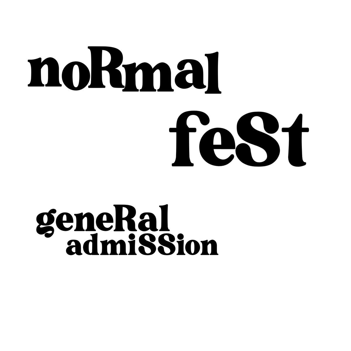 Image of NORMALFEST 3 GENERAL ADMISSION