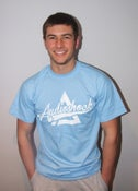 Image of RETRO Tshirt - SKY BLUE