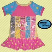 Image of **SOLD OUT** Power Rangers Dress - Size 5T/6