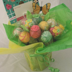 Image of 'Spring' Cake Pop Bouquet