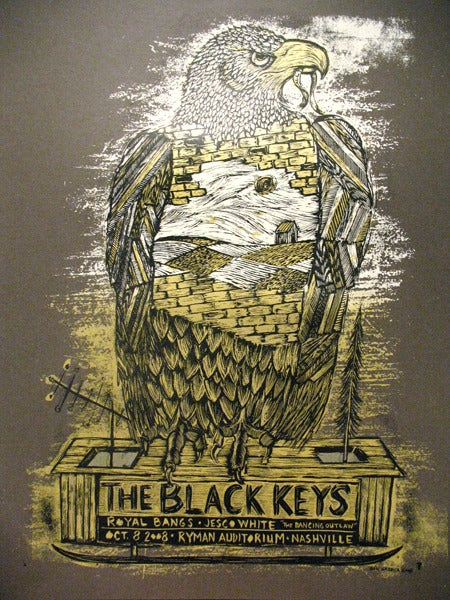 Image of Black Keys Ryman Nashville Brown Variant