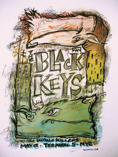 Black Keys NYC 2008