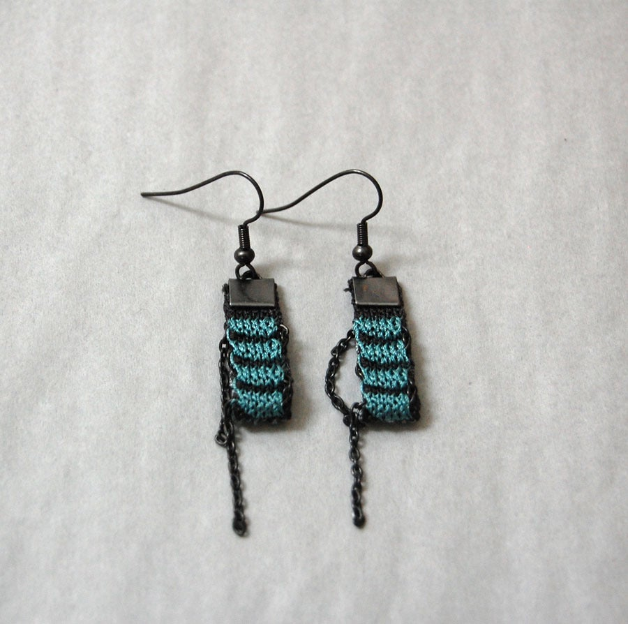 Image of One Pixel Earrings JADE