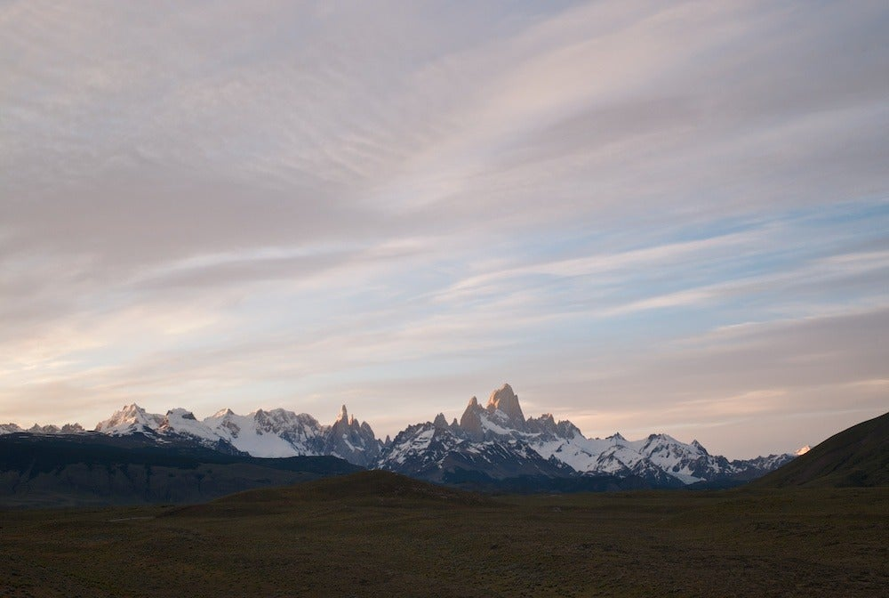 On the road to El Chaltén