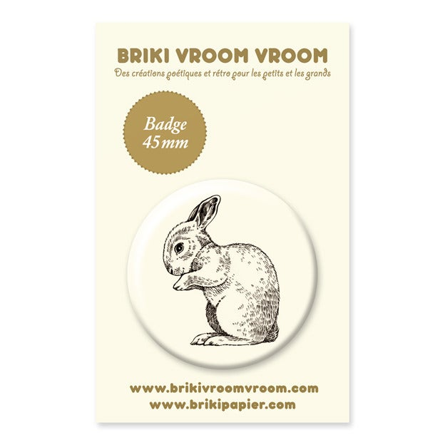 Image of Badge lapin