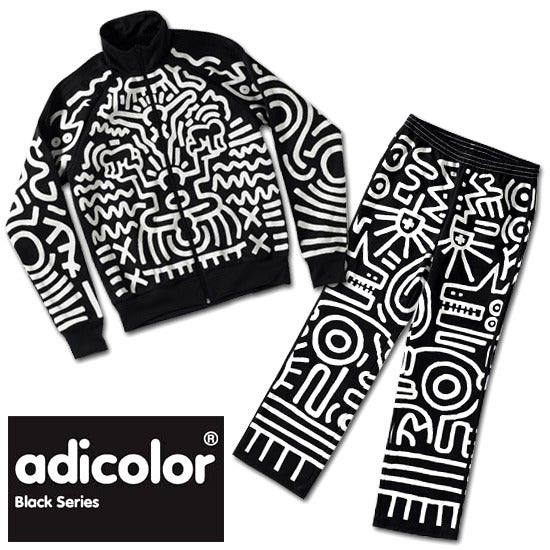 promo code f1cb7 809bd ADIDAS X JEREMY SCOTT X KEITH HARING TRACKSUIT LIMITED EDITION