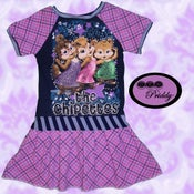 Image of **SOLD OUT** Chipmunks Chipettes Dress - Size 11/12