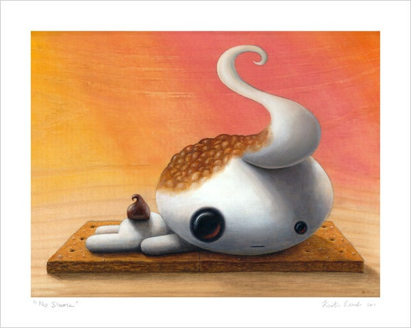 "Image of ""No S'more"" giclee print"