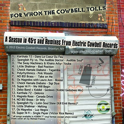 Image of For Whom the Cowbell Tolls - Spring 2012 Compilation CD (ECR 704)