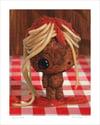 """My Poor Meatball"" giclee print"