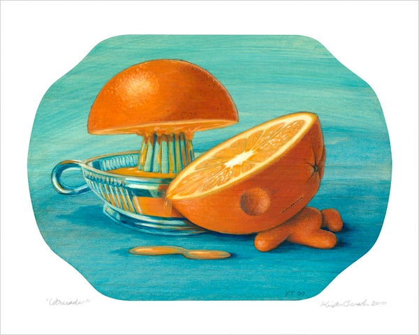 "Image of ""Citruside"" giclee print"