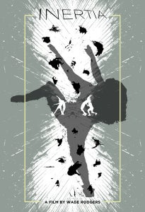 """Image of """"Inertia"""" Limited Edition Silk Screened Poster"""
