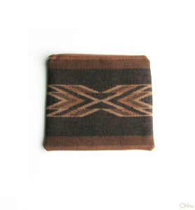 Image of Southwestern Pendleton Wool Clutch Bag/Makeup Case