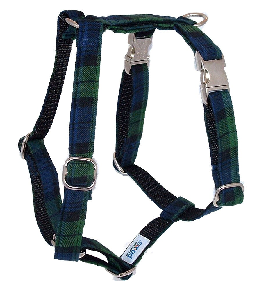 Black Watch Tartan Dog Harness